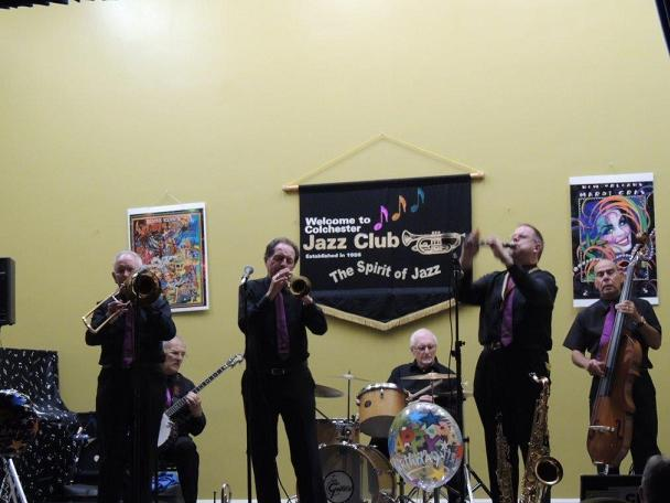 Dart Valley Stompers at Colchester Jazz Club