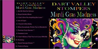 Dart Valley Stompers Mardi Gras Madness CD